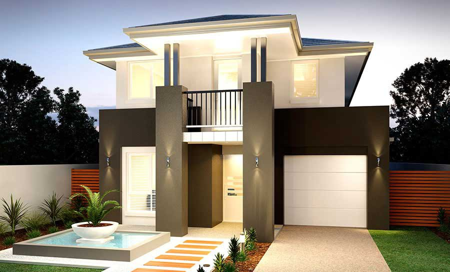 House Plans & Home Designs Sydney NSW - Facade 8