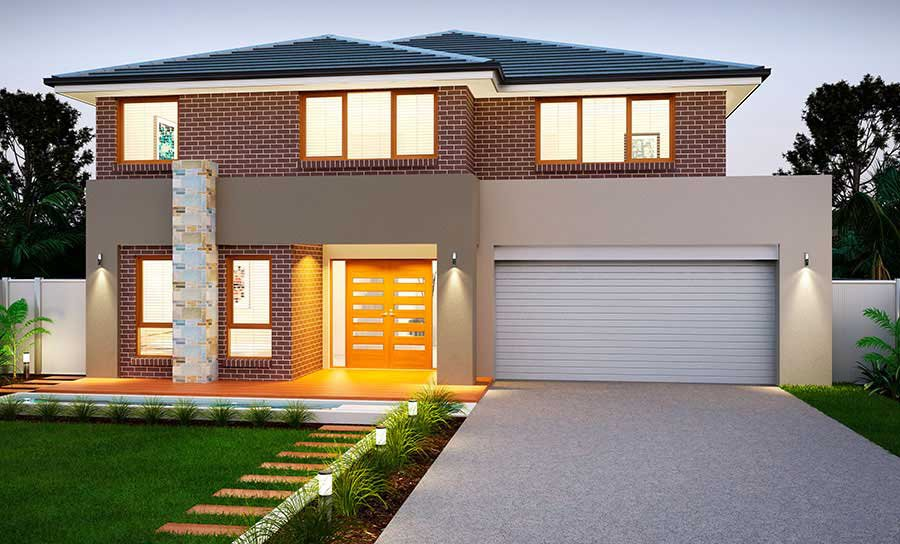 House Plans & Home Designs Sydney NSW - Facade 14
