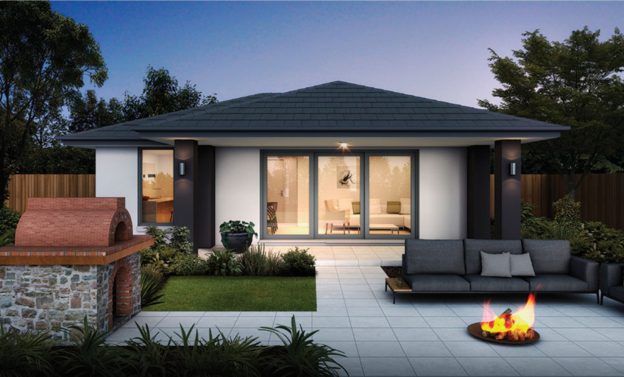 Home Design Ideas Pictures: 60m2 Granny Flat (2 Bedrooms) Home Design NSW