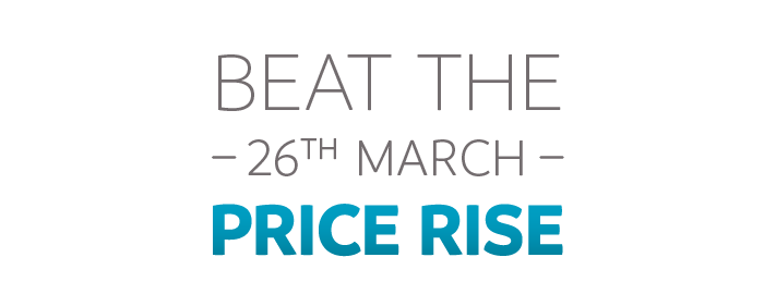 Beat the 26th March Price Rise