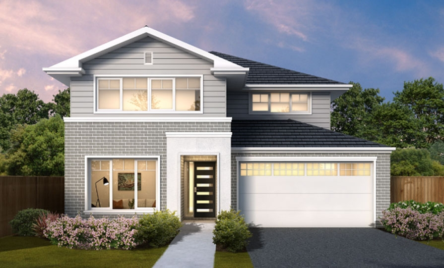 House Plans & Home Designs Sydney NSW - Facade 11
