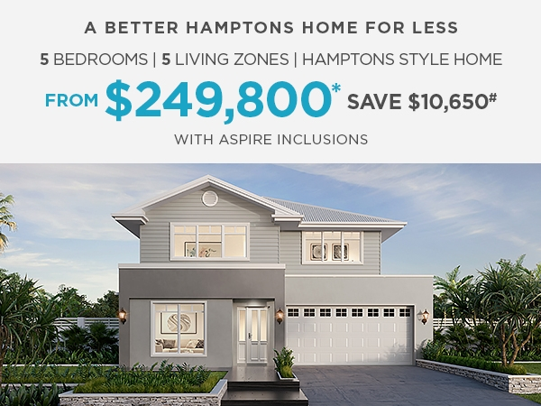 QLD Promotions 1 - Clarendon Homes