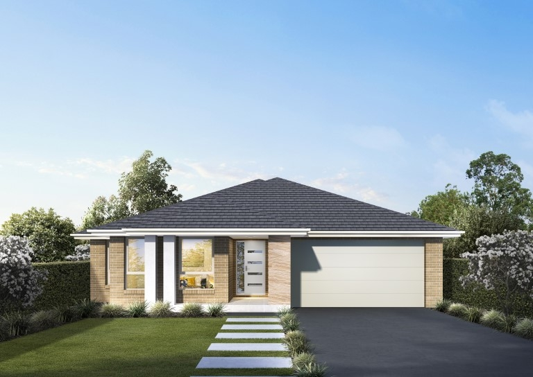 House Plans & Home Designs Sydney NSW - Facade 1