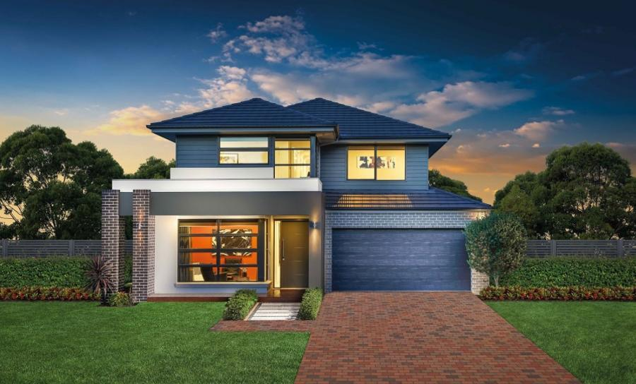 House Plans & Home Designs Sydney NSW - Facade 2