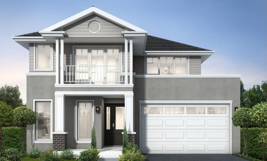 House Plans & Home Designs Sydney NSW - Facade 10