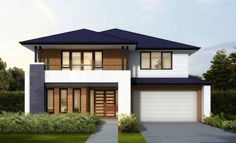 House Plans & Home Designs Sydney NSW - Facade 5